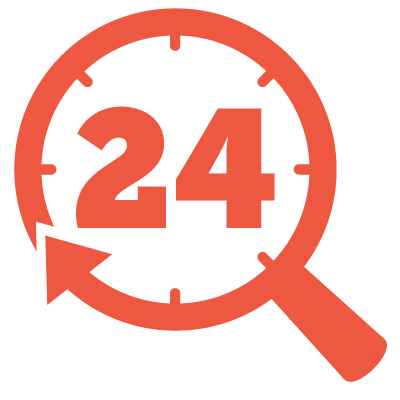 24-Hour Inspection Icon